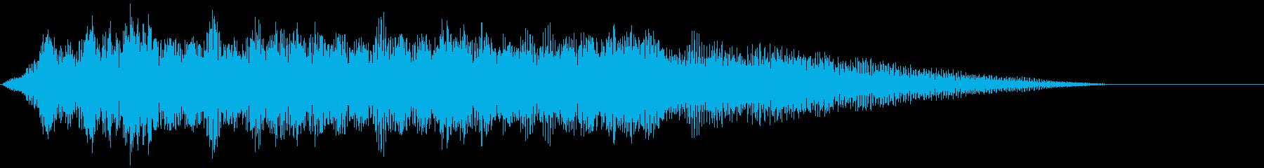 【タイトルロゴ】暗いサイバー空間の再生済みの波形