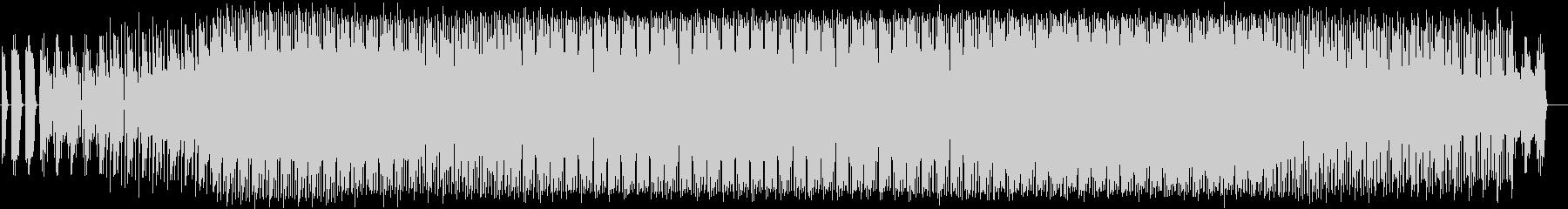 ふわふわしたエレクトロニカの未再生の波形