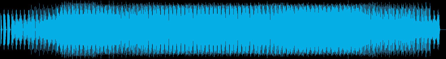 ふわふわしたエレクトロニカの再生済みの波形