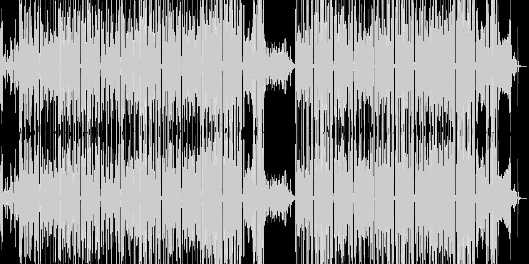 タイム制限クイズのようなポップスの未再生の波形