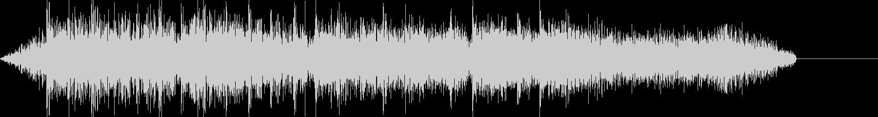ボーナス確定 レベルアップ音の未再生の波形