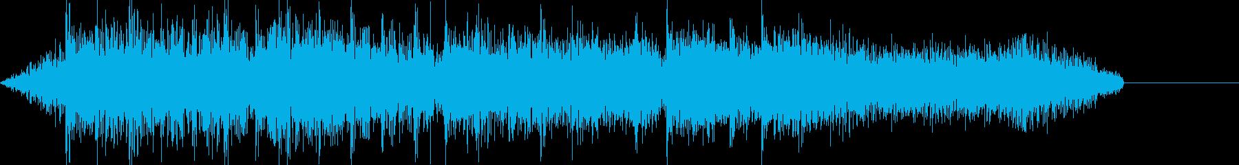 ボーナス確定 レベルアップ音の再生済みの波形