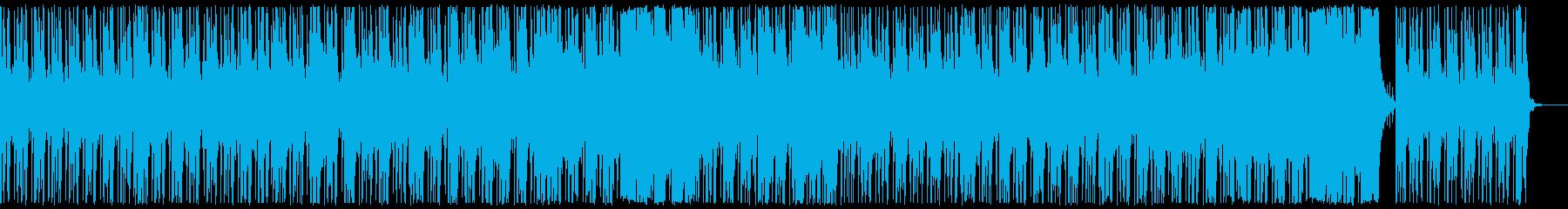 ゆったりとした浮遊感覚の再生済みの波形