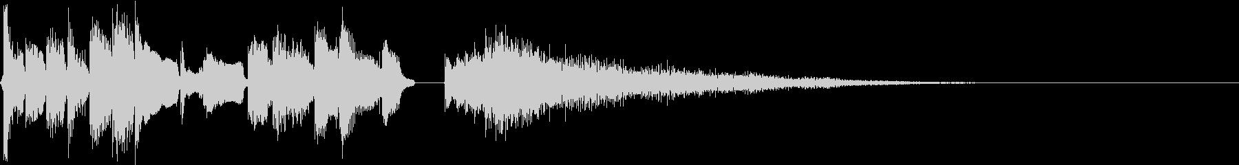 アコギ(生演奏) ブルース ジングルの未再生の波形