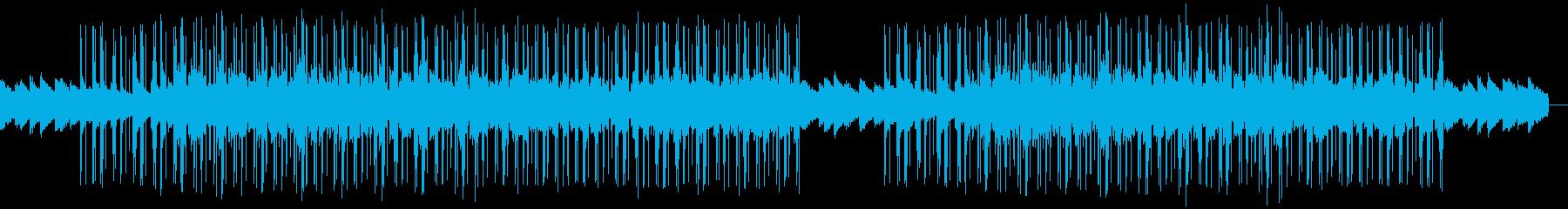 ゆったり・ほのぼのしたヒップホップの再生済みの波形