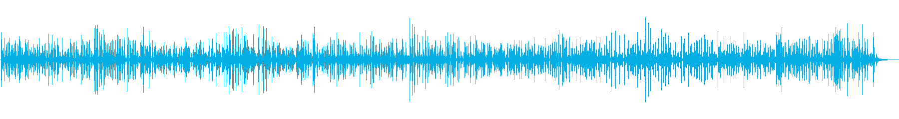 【JAZZ】オシャレな店舗で流れるBGMの再生済みの波形