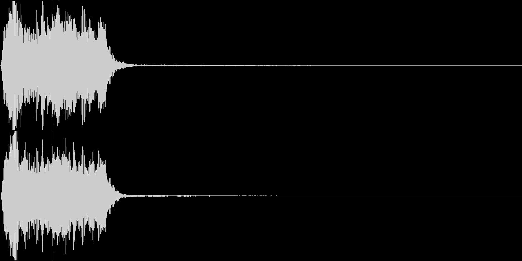 トランペット ファンファーレ 定番 5の未再生の波形