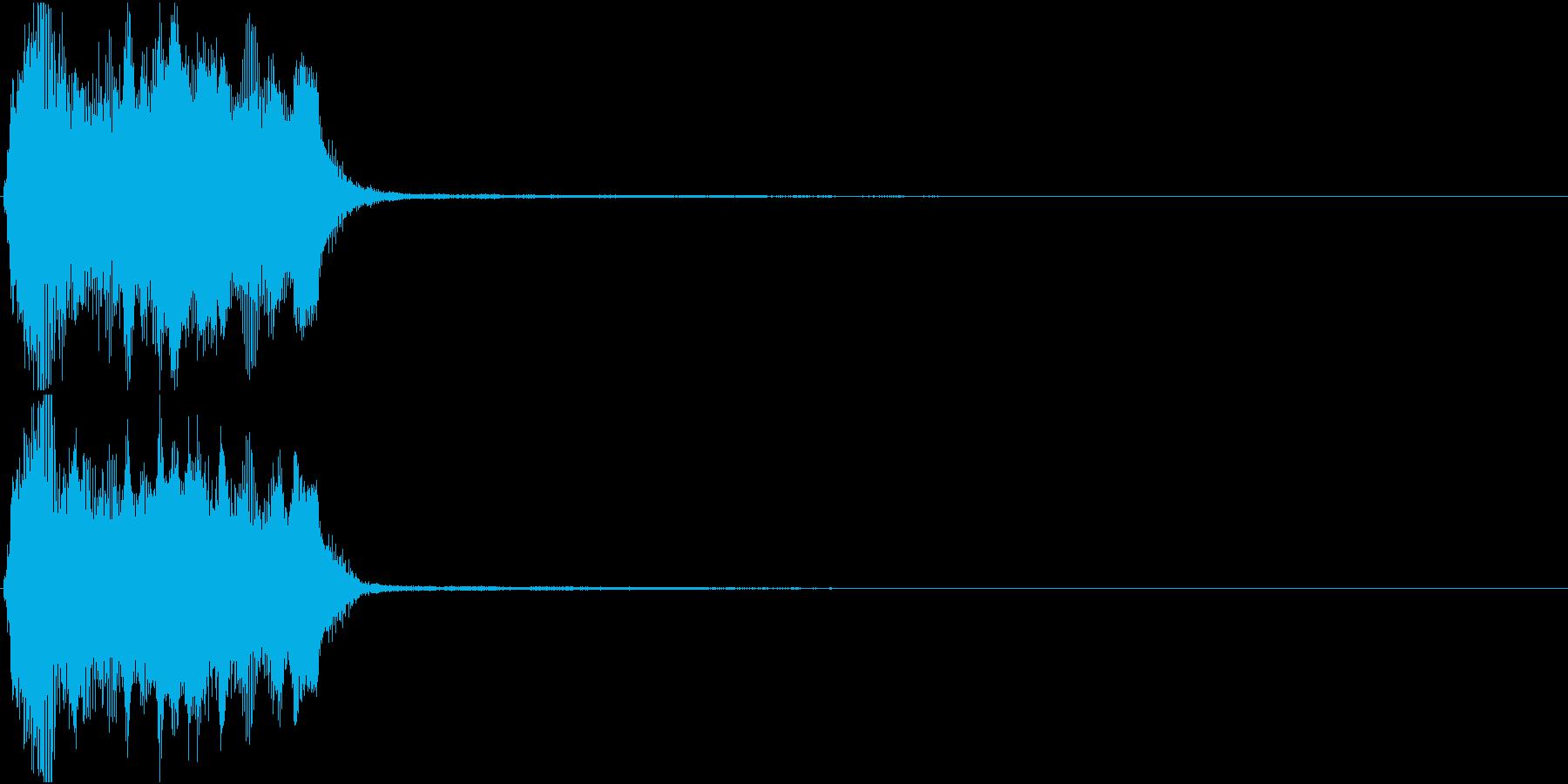 トランペット ファンファーレ 定番 5の再生済みの波形