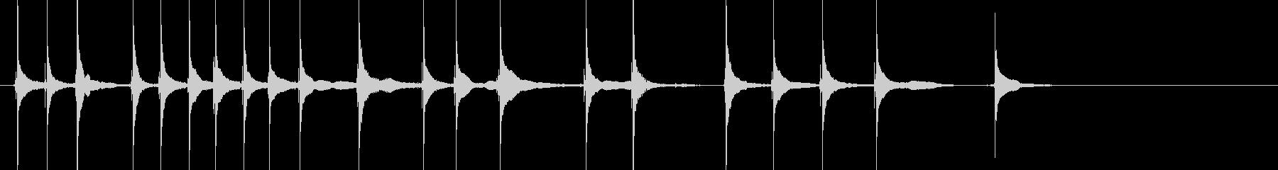 三味線24娘道成寺3日本式レビューショーの未再生の波形