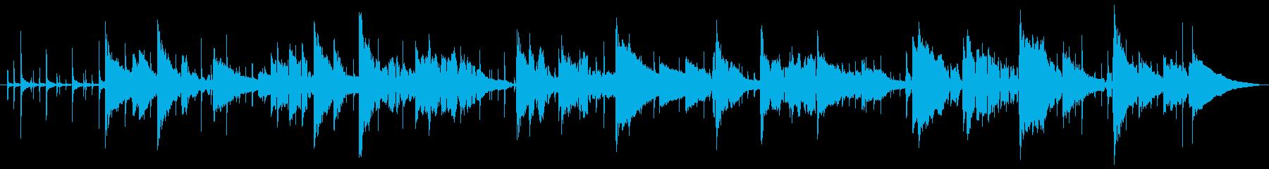 軽やかなスムースジャズの再生済みの波形