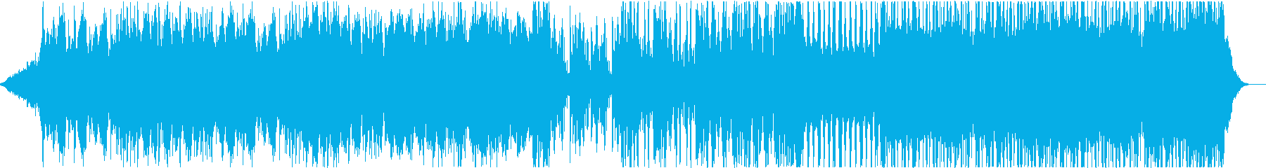 サイバー系の戦闘BGMの再生済みの波形