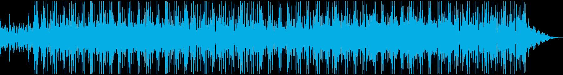 妖しいシンセが印象的な癒し系ピアノホップの再生済みの波形