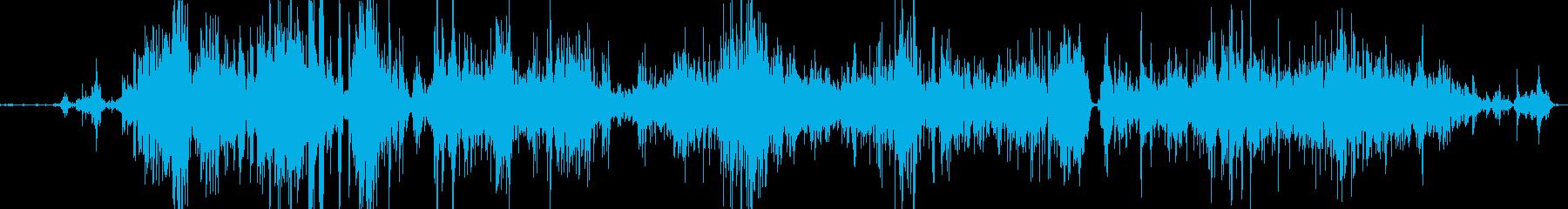 メタルスクレープ;ざらざらしたセメ...の再生済みの波形