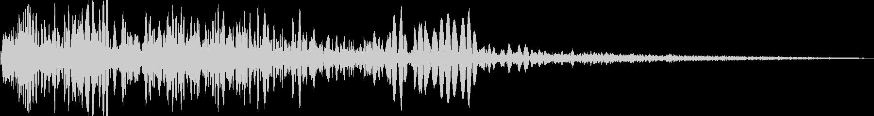 火炎放射器、ショートバーストの未再生の波形