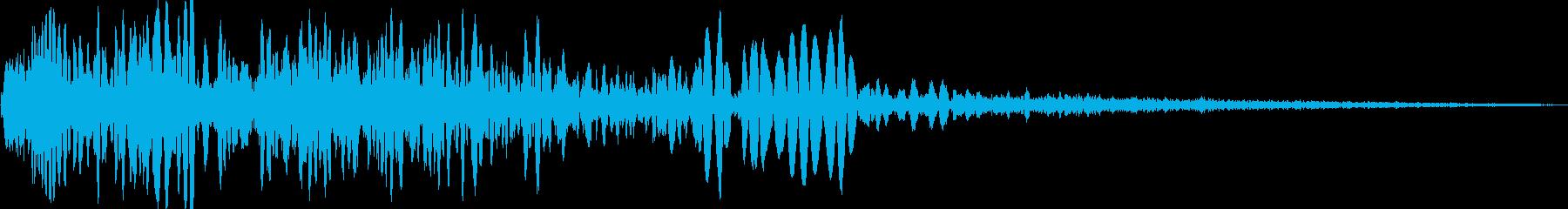 火炎放射器、ショートバーストの再生済みの波形