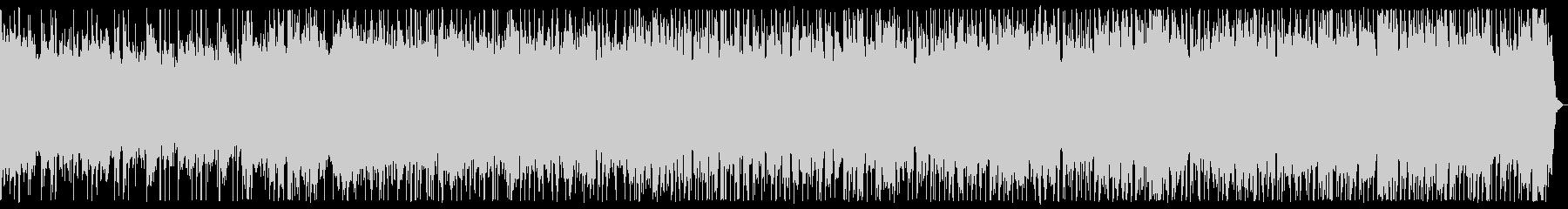 スロー、ダークなメタルBGMの未再生の波形