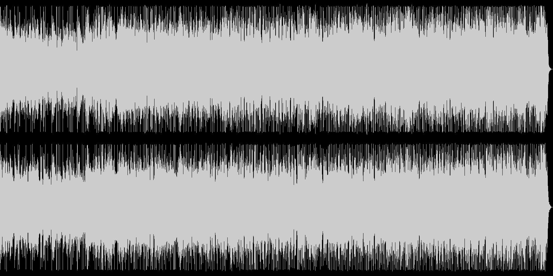 魔の領域 ダークなメタル戦闘曲 背景曲の未再生の波形