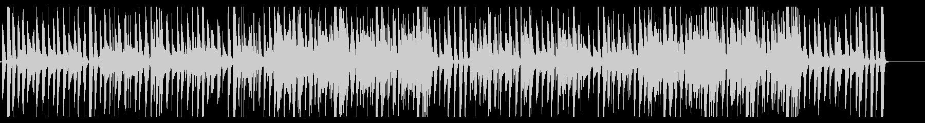 アコギとピアノのカントリーラグタイム♪の未再生の波形