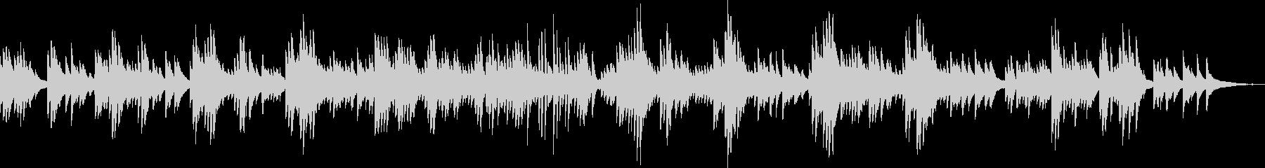 切ないピアノバラード(しっとり・悲しい)の未再生の波形