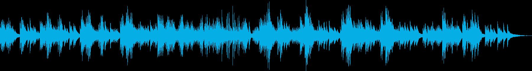 切ないピアノバラード(しっとり・悲しい)の再生済みの波形