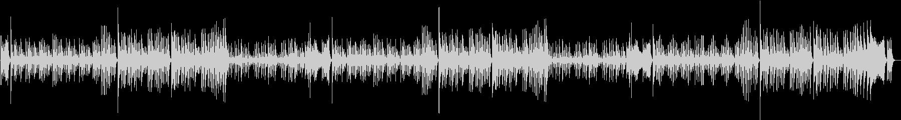 定番!ジングルベルのXmasピアノBGMの未再生の波形