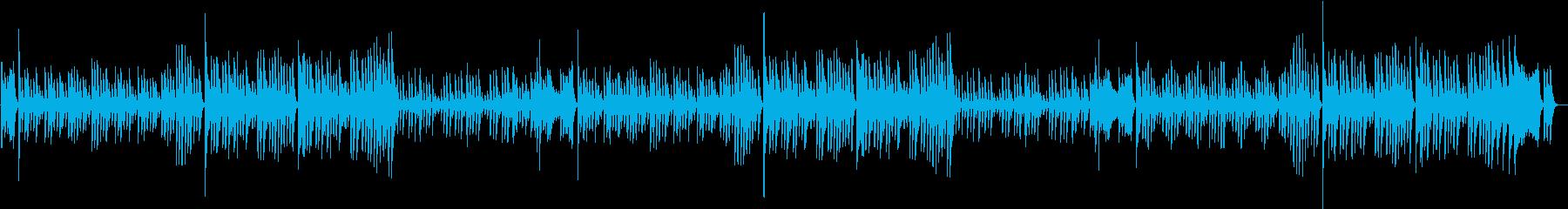 定番!ジングルベルのXmasピアノBGMの再生済みの波形