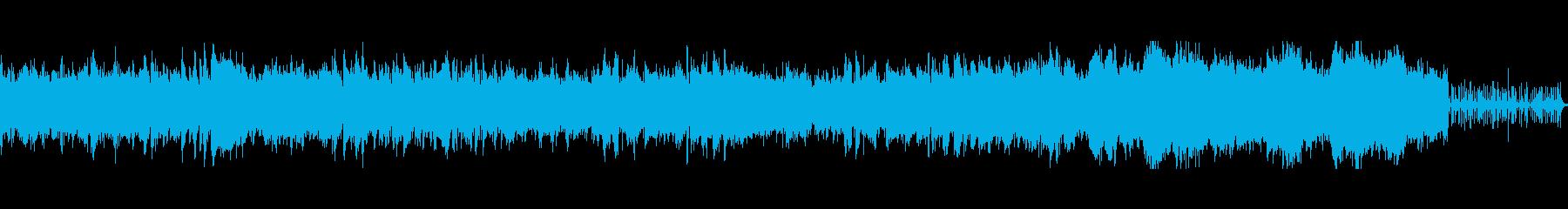 躍動感のあるメロディの疾走系ケルトの再生済みの波形