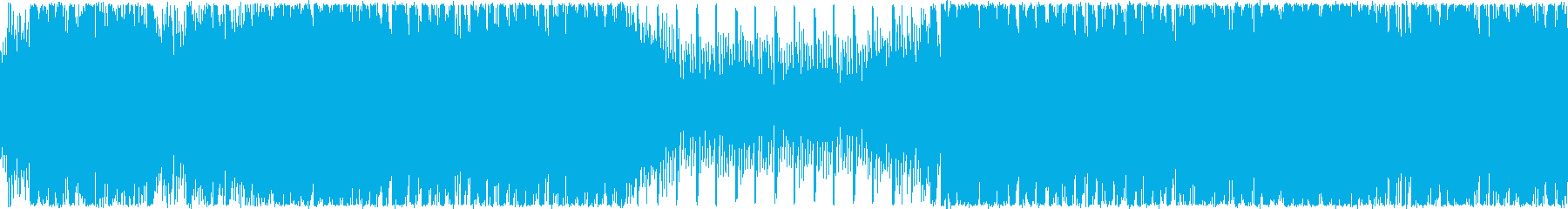 ループ・おしゃれな洋楽EDMの再生済みの波形