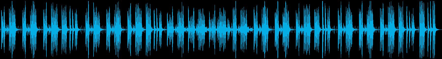 ほのぼのまったりかわいい日常曲の再生済みの波形