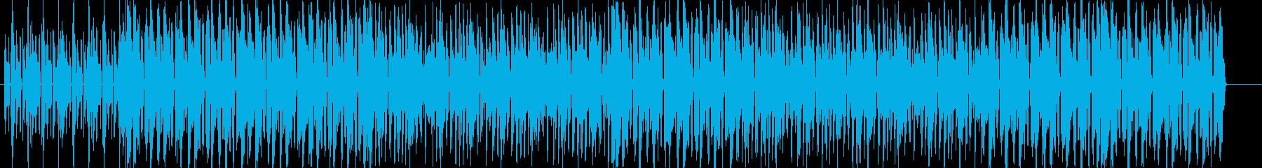 無機質・淡々で怪しげなエレクトロニカの再生済みの波形