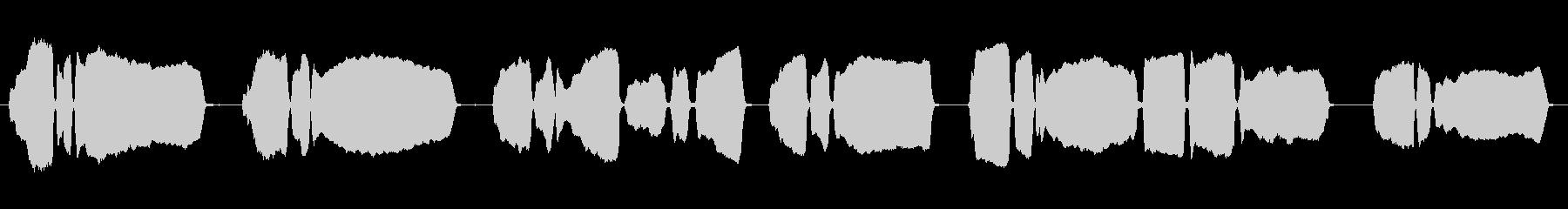 ラッパ演奏タップの未再生の波形
