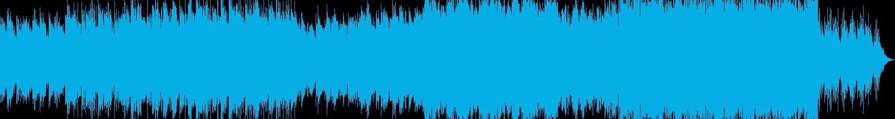 ゆっくり盛り上がるポップエレクトロニカの再生済みの波形