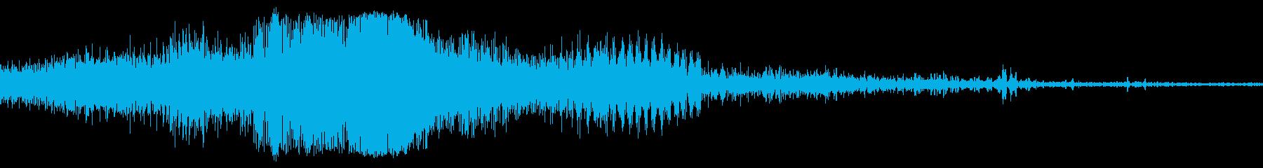 クローズアップアイドルでフォードT...の再生済みの波形