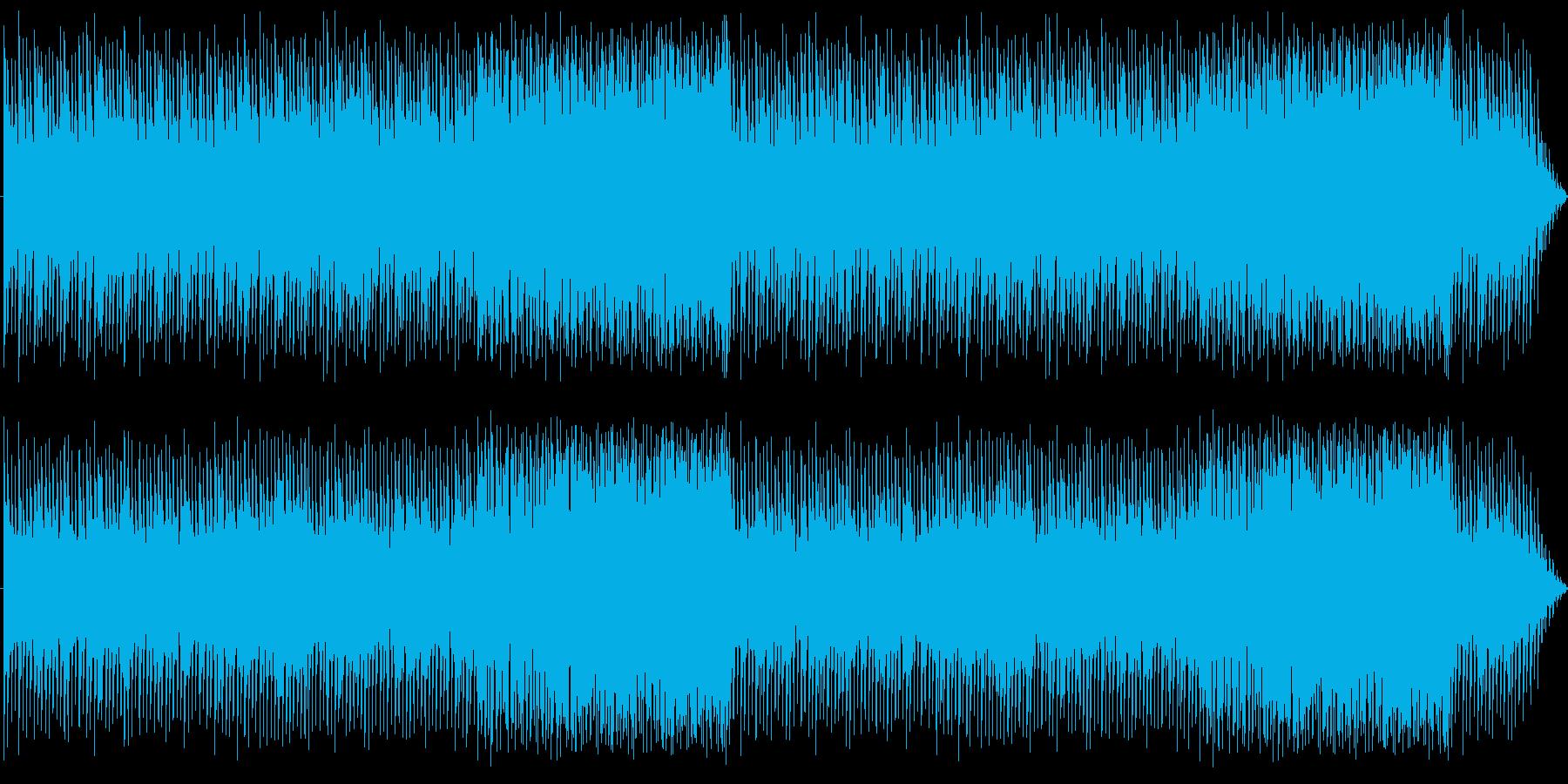 メロウなピアノのEDM:編集版Bの再生済みの波形