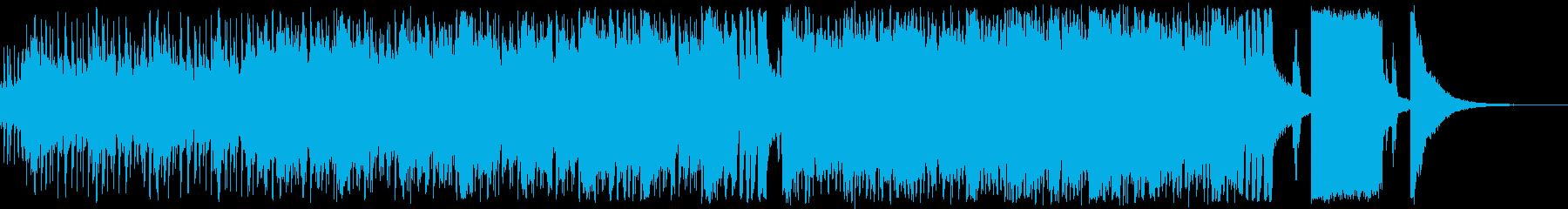 疾走感のあるビッグバンドジャズの再生済みの波形