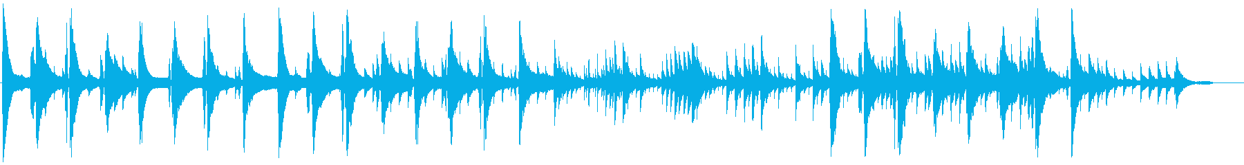 Moist and heartwarming BGM1's reproduced waveform