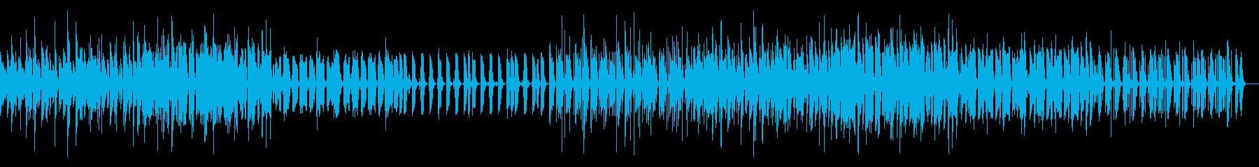 KANTちんどん屋風和風BGMの再生済みの波形
