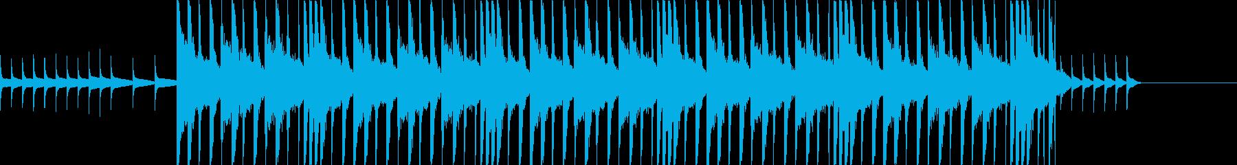 オルゴールの旋律がエモいの再生済みの波形