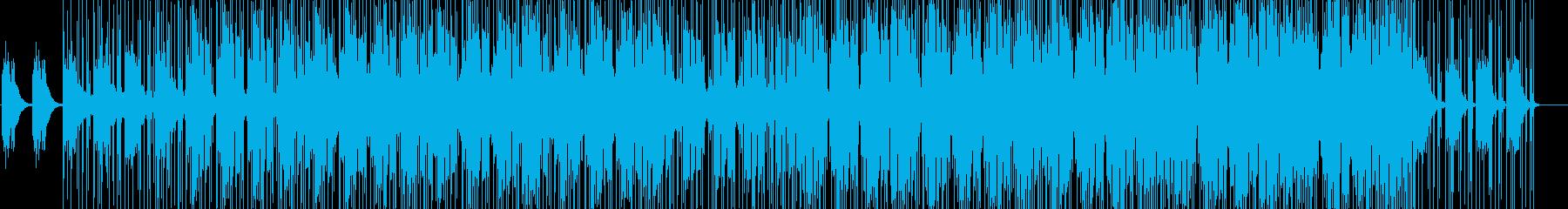 ピアノがメインのアンビエントミュージックの再生済みの波形