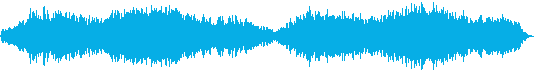ダークで、退廃的なシーンにの再生済みの波形