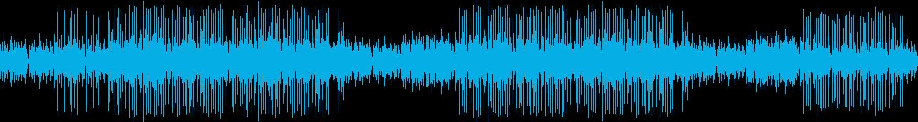 センチメンタル・懐かしい・悲しい・ピアノの再生済みの波形