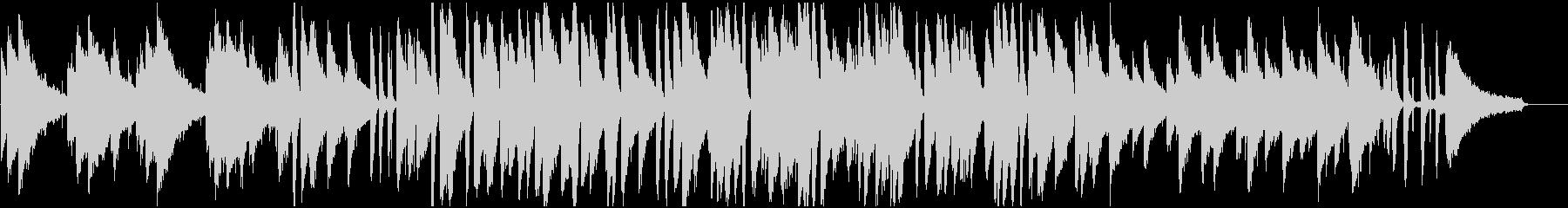 上品で暖かなピアノメインのジャズBGMの未再生の波形