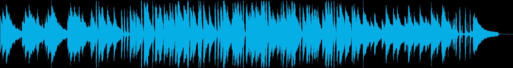 上品で暖かなピアノメインのジャズBGMの再生済みの波形