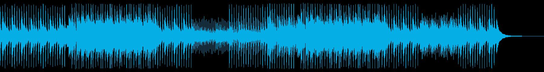 ベース無ver 朝露 ピアノ バイオリンの再生済みの波形