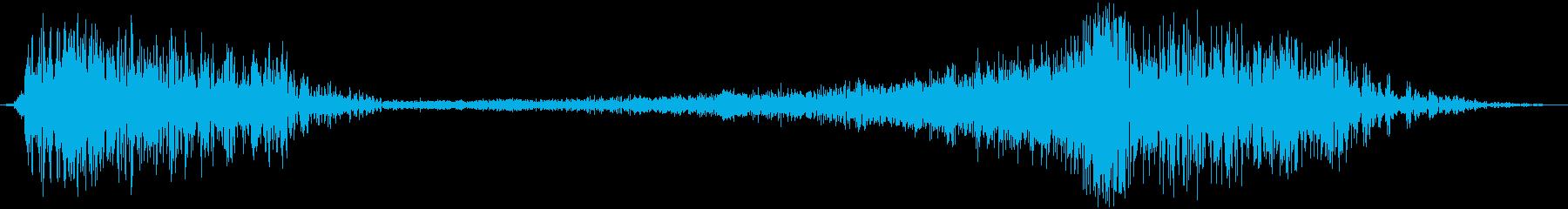 ヘビーメタルローリングフーシの再生済みの波形