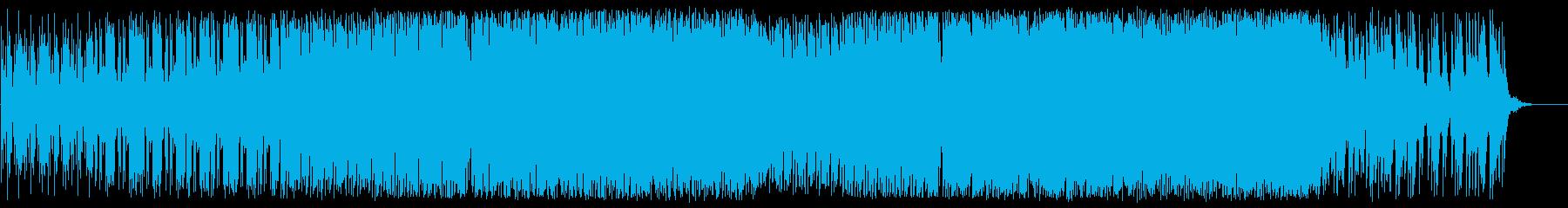 ゲームのような和洋折衷ヒップホップの再生済みの波形