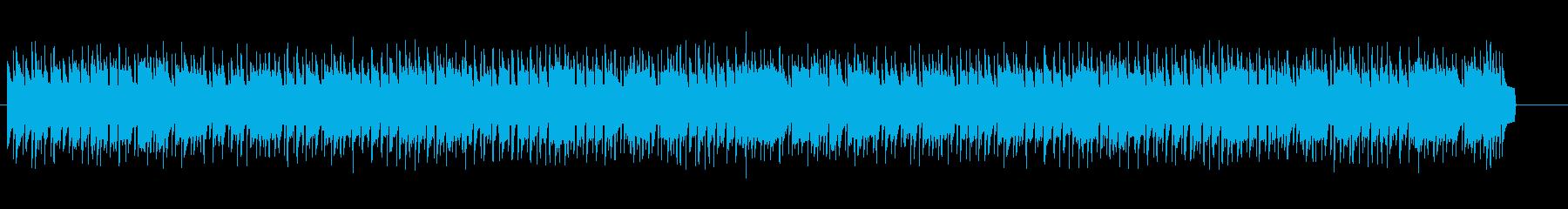 昔のシューティングゲームの1面ですの再生済みの波形