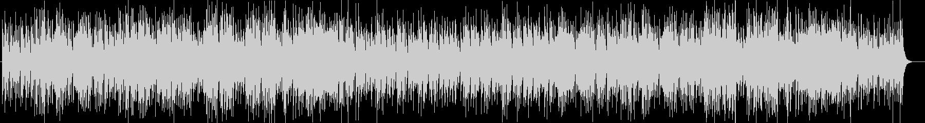 南国ムードのスチールドラムとシンセ曲の未再生の波形