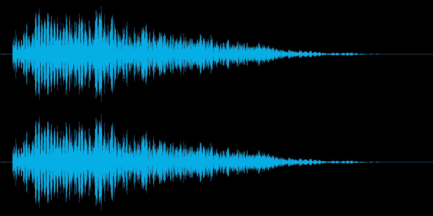 パンチやキックに最適な打撃音!03Hの再生済みの波形