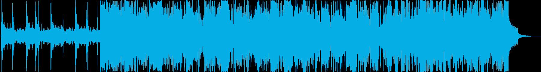 映像に最適なバイオリン曲の再生済みの波形